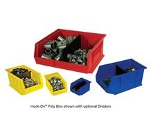 DIVIDERS FOR HOOK-ON® POLY BINS